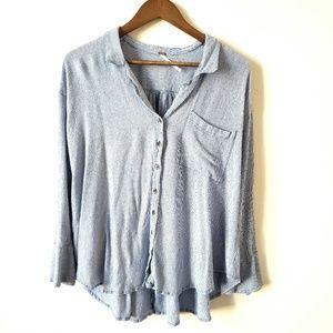 Free People tunic blouse